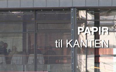 PAPIR til KANTEN udstilling på Museum Silkeborg Hovedgården